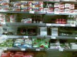 Japanese shelf at A Food Market.