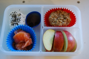 My friend's first bento.