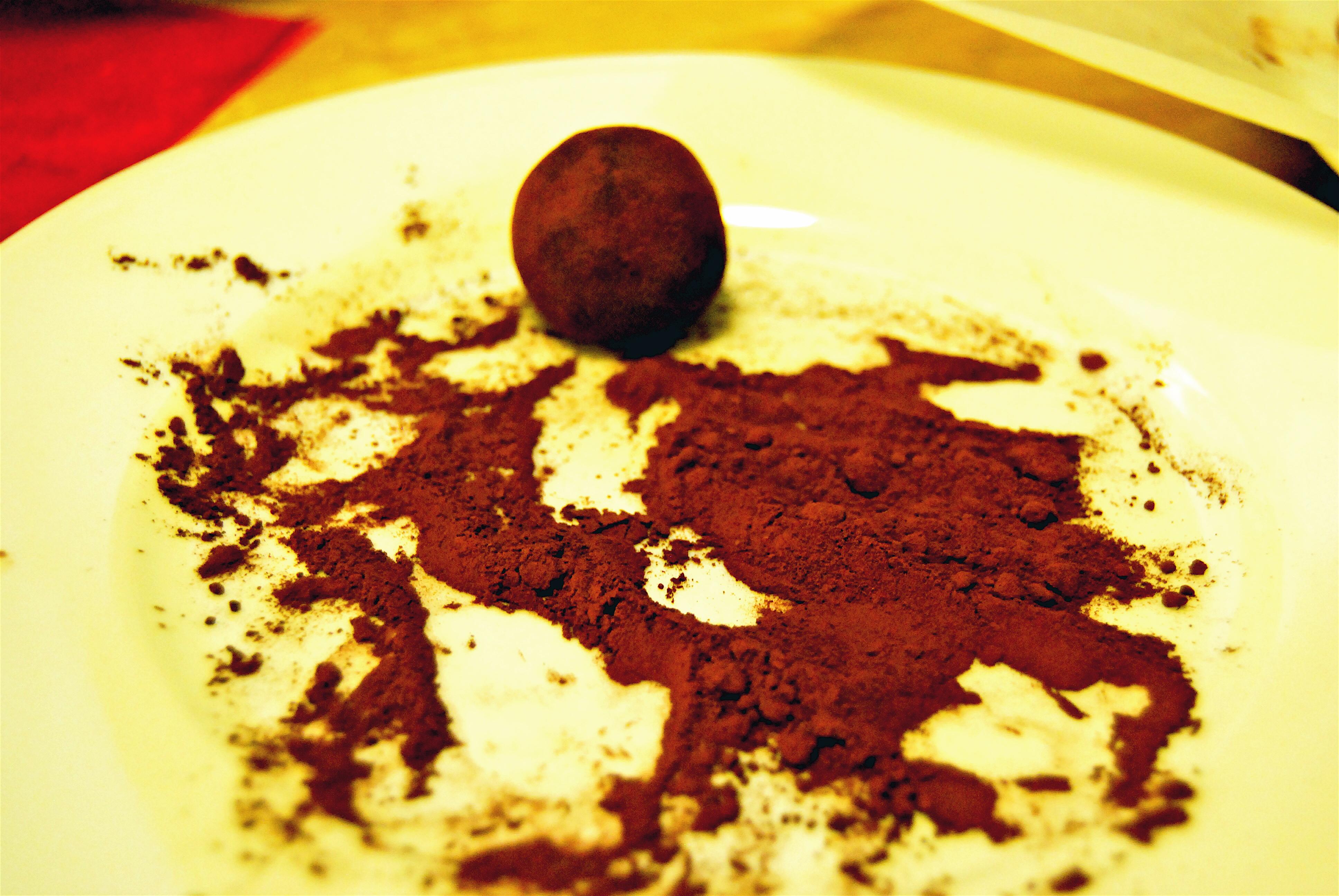 Slightly) balsamic truffles.